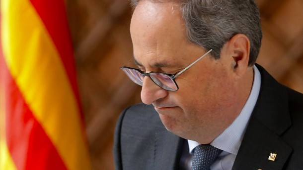 Katalanischer Regionalchef Torra abgesetzt