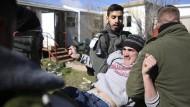 Umkämpfte Räumung von Siedlung im Westjordanland