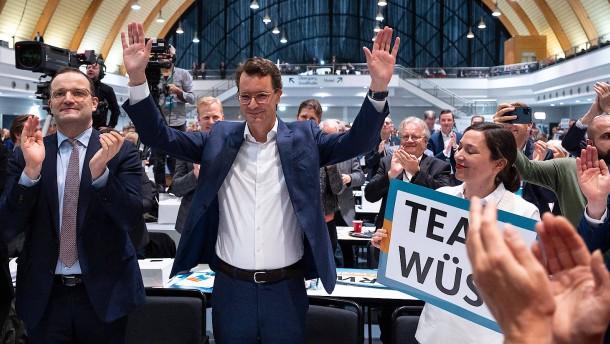Hendrik Wüst zum neuen CDU-Landesvorsitzenden gewählt