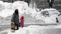 Katastrophenfall wegen Schnee