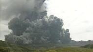 Kamera filmt Vulkanausbruch