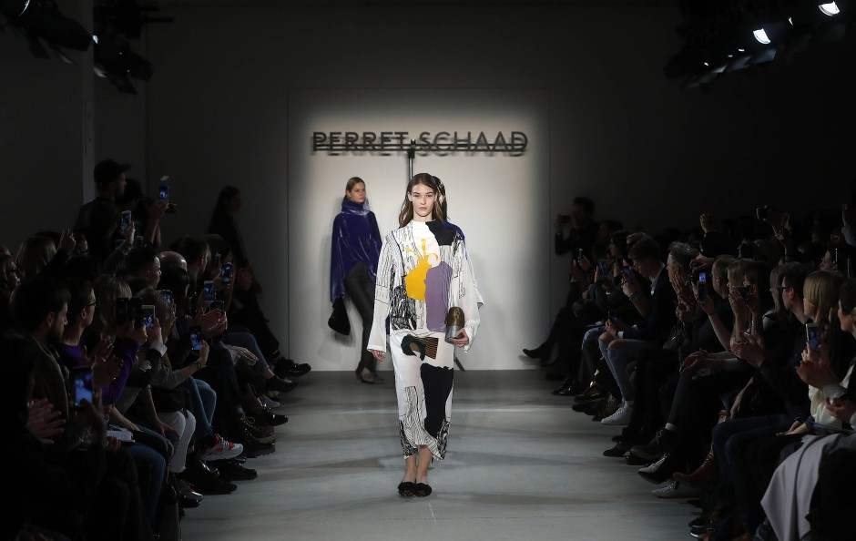 Die Herbst-/Winter-Kollektion von Perret Schaad auf der Berliner Modewoche