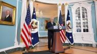 Amerikas Außenminister hält Atomabkommen für einen Fehler