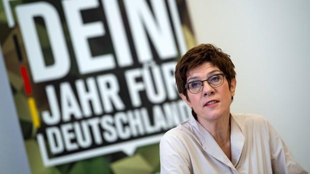 Die Bundeswehr sucht Freiwillige für den Heimatschutz