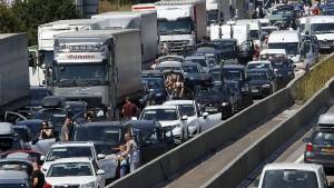 3700 Stau-Stunden weniger auf Hessens Autobahnen