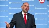 Auf Konfrontationskurs: Chef der Bundesagentur für Arbeit Delef Scheele