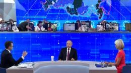 Putin stellt sich Bürgersorgen – und scheitert daran