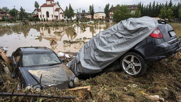 20 Tote bei schwerem Unwetter in Mazedonien