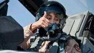 Lady Liberty fliegt Luftangriffe auf Dschihadisten