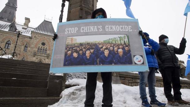 Kanada wirft China Genozid vor
