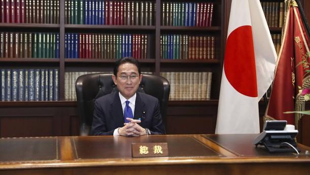 Ex-Außenminister Fumio Kishida wird Regierungschef