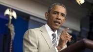 Obama wirbt um Unterstützung