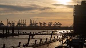Schwächere deutsche Wirtschaft belastet Euro-Raum
