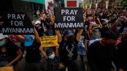 Mehrere Demonstranten bei Protesten getötet