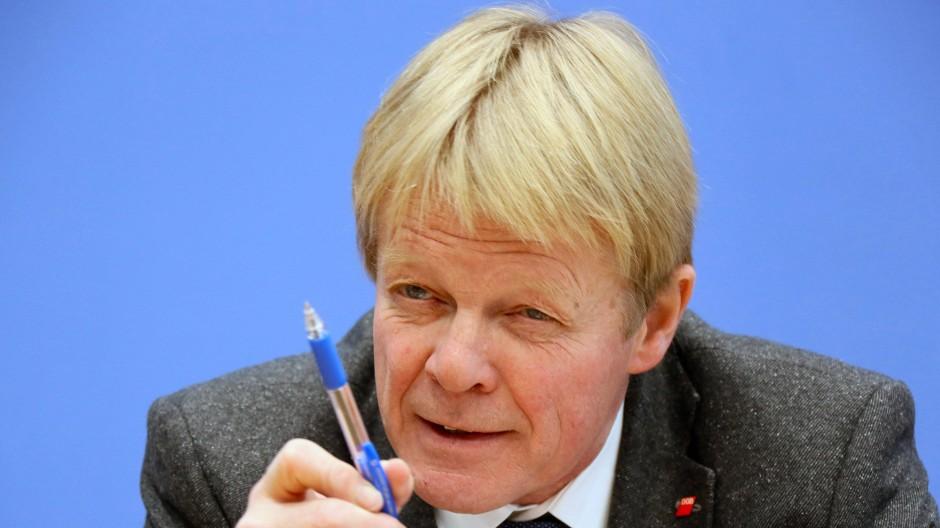 Vorsitzende des DGB, Reiner Hoffmann
