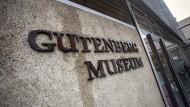 Zu eng geworden: Die Pläne für den Ausbau des Gutenberg-Museums bleiben in der Diskussion.