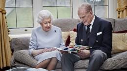 Queen Elisabeth und Prinz Philip feiern 73. Hochzeitstag