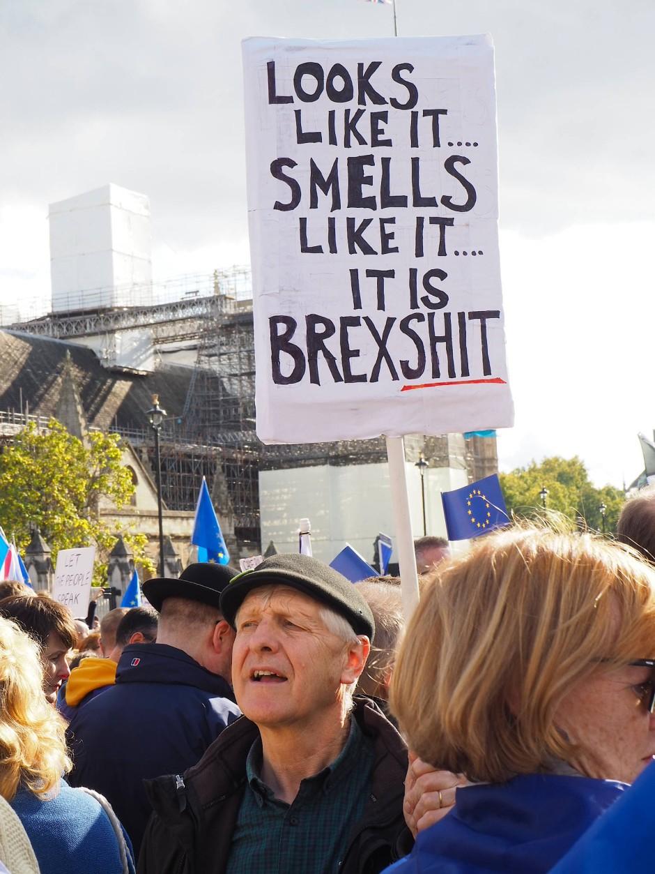 Die Demonstranten sind dafür bekannt, kein Blatt vor den Mund zu nehmen.