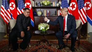 Kim lässt sich feiern