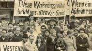 Bürgerlicher Protest: Die Aktionsgemeinschaft Westend schaffte es, viele Menschen auf die Straße zu bringen.