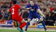 Liverpool und Manchester United trennen sich torlos