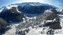 Winterzauber in Davos