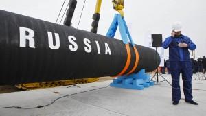 Russen und Europäer bauen Ostseepipeline aus