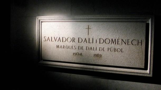 Salvador Dalí wird für einen Vaterschaftstest exhumiert