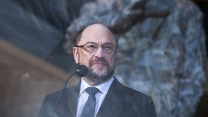 Muss Schulz Opfer bringen?