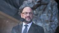 Es wird spannend: Wohl auch die Zukunft von Martin Schulz als SPD-Chef entscheidet sich am Sonntag.