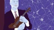 Stefan Kölsch hält nichts von Stradivaris. Unsere Neuronen gaukeln uns nur vor, dass sie besser klingen, weil sie so wahnsinnig teuer sind.