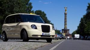 Berlin fährt bald mit Londons Taxen