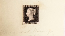 Älteste Briefmarke der Welt wird versteigert
