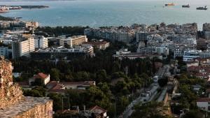 Hagel und Überschwemmungen in Griechenland