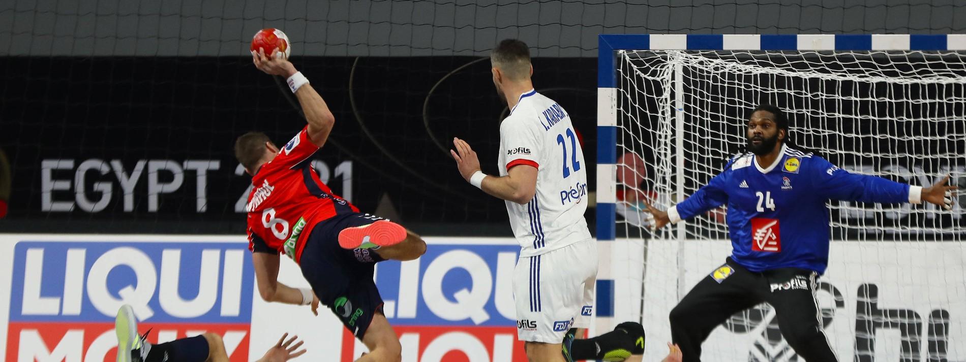 Frankreich gewinnt erstes Topspiel der Handball-WM