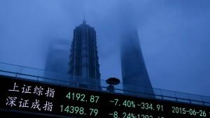 Stimmung in Chinas Industrie fällt auf Zwei-Jahres-Tief