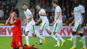 Bundesliga: Bayer Leverkusen spielt 3:3 gegen Werder Bremen