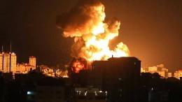 Israel verschärft seine Angriffe auf Ziele der Hamas