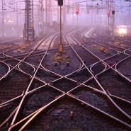 Bahngleise in Frankfurt