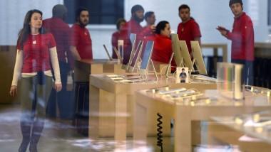 Der Apple-Store in Washington DC - mit dem iPhone macht der Elektronikkonzern mittlerweile zwei Drittel seines Umsatzes.