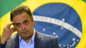 Neves überholt Rousseff