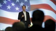 Aus dem Wettbewerb ausgeschieden: Rick Santorum wird nicht der nächste Präsident der Vereinigten Staaten.