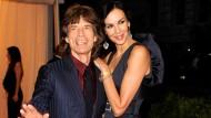 Berühmtes Paar: Scott und Jagger 2012 bei einer Modegala in New York