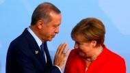 Die deutsche Bundestagswahl im Blick: Erdogan hielt sich mit Wahlempfehlungen nicht zurück.