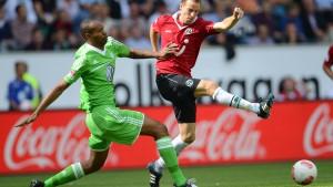 Hilflose Wolfsburger