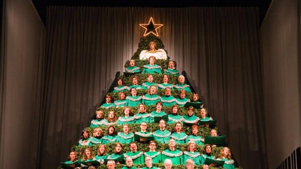 So motivieren Sie sich zum Singen von Weihnachtsliedern
