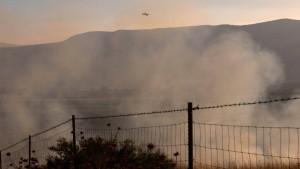 Israel greift syrische Stellungen auf dem Golan an