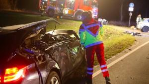 Vier Tote bei Verkehrsunfall