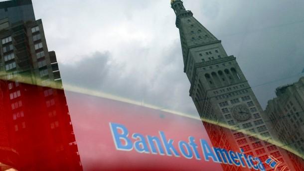 Bank of America muss 1,3 Milliarden Dollar zahlen
