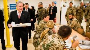 Bundespraesident Gauck in Afghanistan
